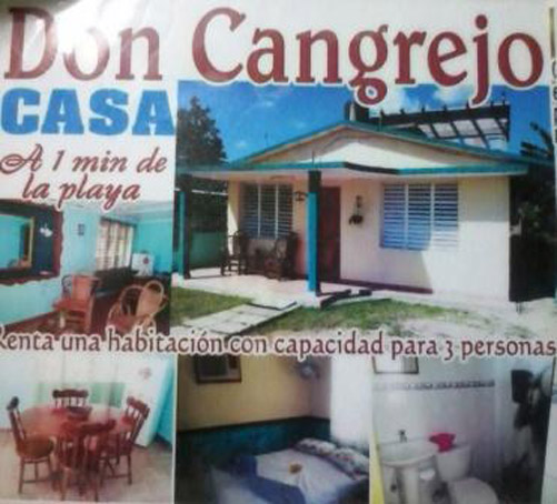 casa don cangrejo en playa larga